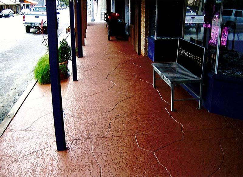 Professional Decorative Concrete For Business Parks