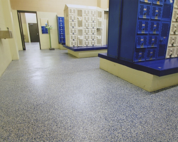 Epoxy Floors Extend Well Beyond the Garage