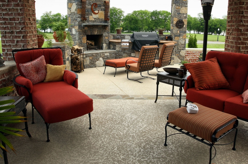 Concrete Patio Repair, Resurfacing And Decoration