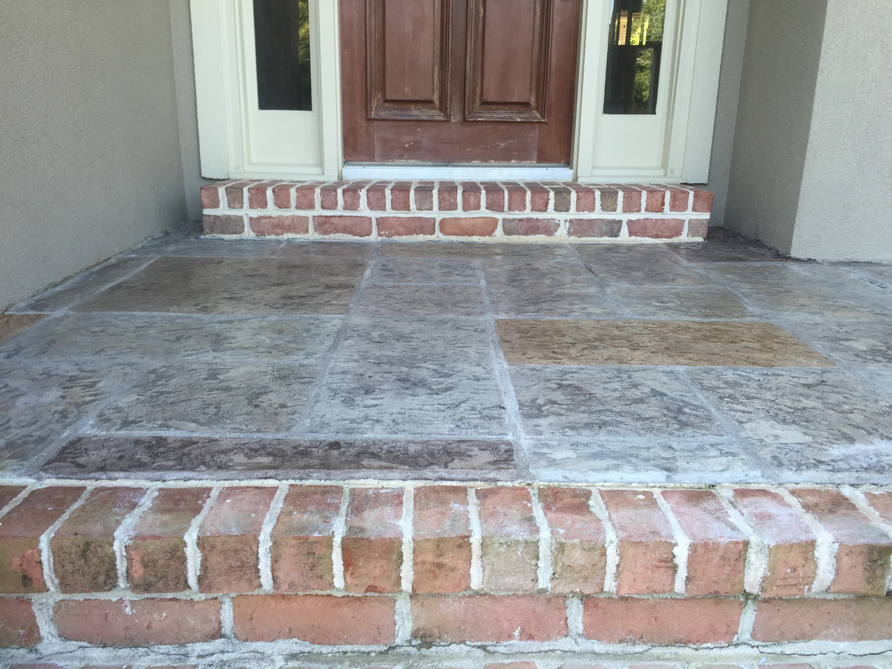 Porch Stamped Concrete